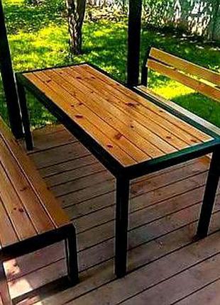 Мебель из натурального дерева в стиле  Loft
