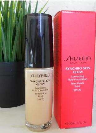 Тональный крем - shiseido synchro skin glow luminizing fluid f...