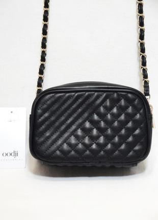 Новая стильная маленькая стеганая сумка кроссбоди через плечо ...