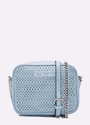Silvian heach новая стильная женская сумка с перфорацией от ит...