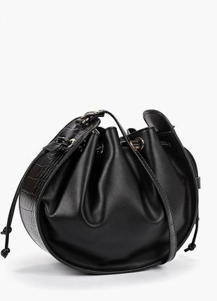 Mango новая стильная женская сумка через плечо от манго