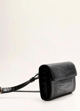 Mango новая универсальная женская сумка на пояс или кроссбоди ...