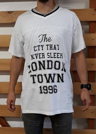 Креативная футболка с надписью