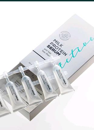 Сыворотка против выпадения волос active cerum occuba