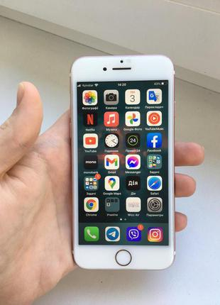 iPhone 7 Rose Gold 128 Gb (Б/у)