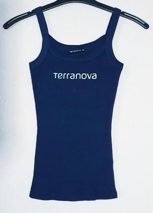 Майка синяя terranova terranova, распродажа