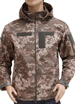 Куртка SoftShell jacket Піксель