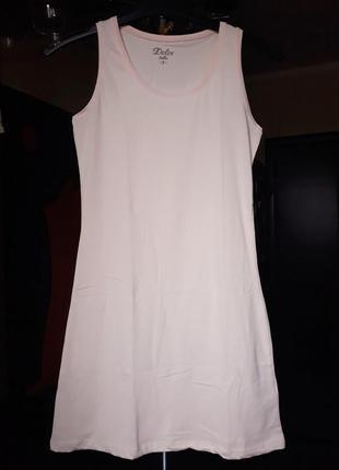 Майка - платье dolce bella, цвет пудра