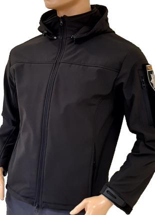 """Куртка SoftShell Jacket """"Поліція"""""""