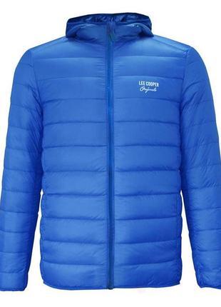 Теплая детская демисезонная куртка пуховик lee cooper