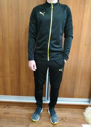 Фирменный мужской спортивный костюм пума puma оригинал