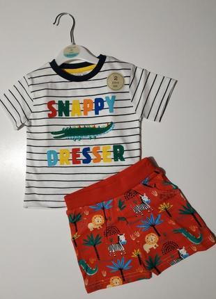 Комплект crafted шорти/футболка