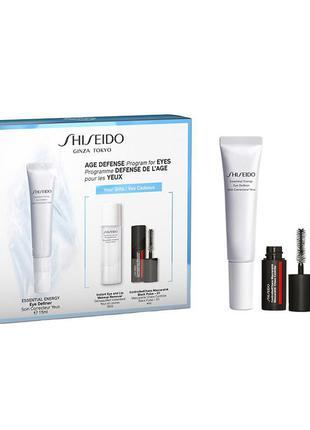 Shiseido набор essential energy eye definer