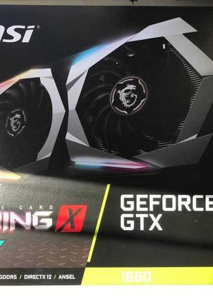 Видеокарта MSI PCI-E GeForce GTX1660 6GB DDR5 (GTX 1660 GAMING...