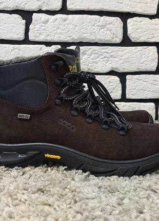 Зимние ботинки (на меху) мужские ecco  13045