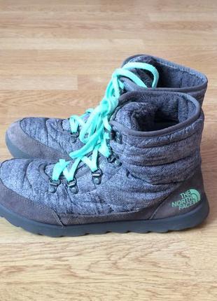 Зимние термо ботинки the north face 40 размера в отличном сост...