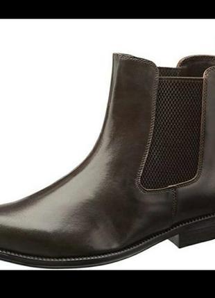 Clifford james мужские кожаные ботинки челси натуральная кожа ...