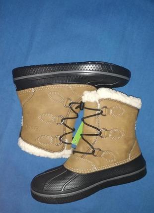 Зимние сапоги crocs j1 j3 c13 с12
