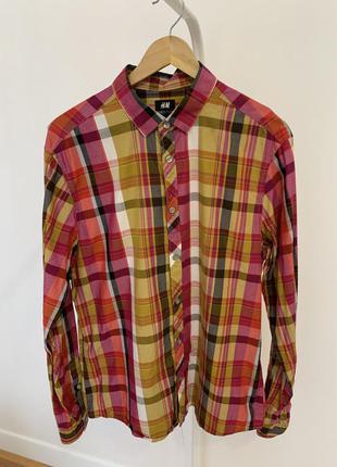 Рубашка сорочка h&m мужская