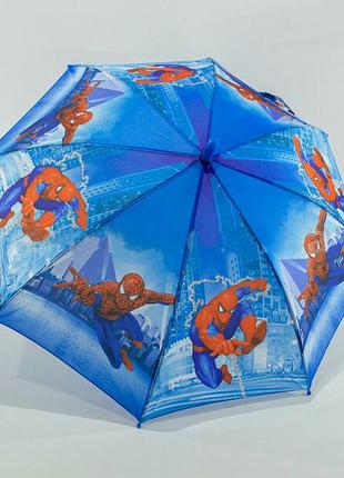 Зонт для мальчика спайдермен человек паук spiderman