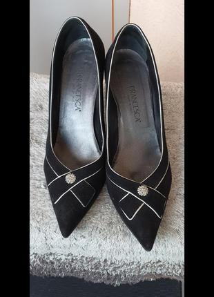 Vero cuoio, туфли, замшевые, размер 41