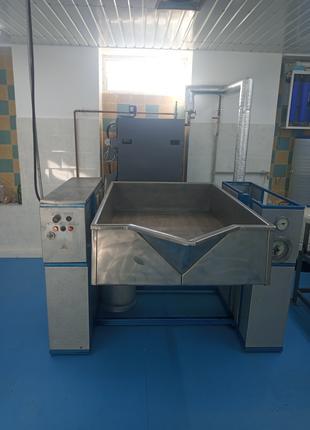 Паровая плита (печь Крапивина) А9-КВД+парогенератор 100 кВт.