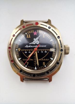 Часы СССР Командирские (Артиллерийские)