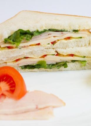 Сэндвичи с индейкой для кофейни оптом