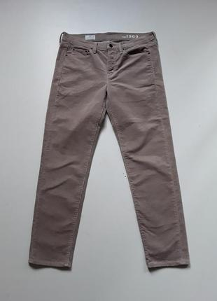 Вельветовые штаны бойфренд