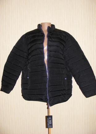 Куртка мужская зимняя на синтепоне на рос 180, вес 120-125 кг