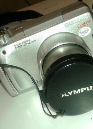 Фотоаппарат Olympus C 760 Ultra zoom 3.2 Mp, 10*optical zoom