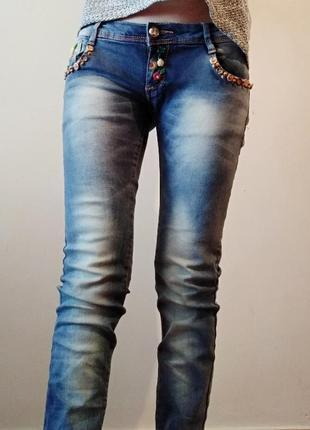 Удобные джинсы с низкой посадкой🌸