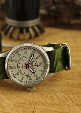 """Мужские наручные часы полет """"авиатор"""" 17 камней"""