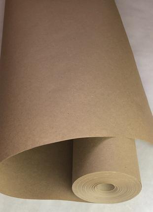 Крафтовая бумага для упаковки 75 см*70 метров, пл. 70 г/м2
