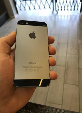 Iphone 5s 16 Space gray MDN телефон айфон смартфон бу 5с 5
