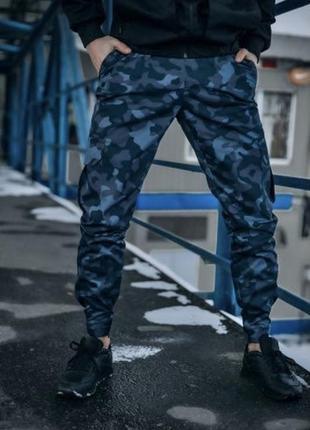"""Котоновые штаны """"baza"""" intruder (камуфляжные)"""