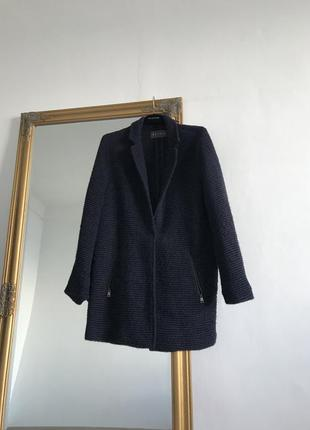Вязаное легкое пальто кардиган k16
