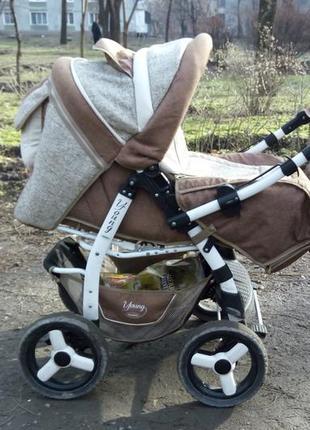 Детская коляска трансформер Adamex Young Б/У