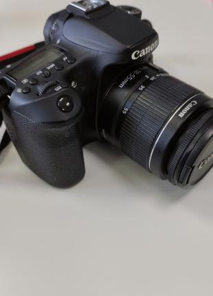 Фотоаппарат Canon eos70d + объектив EFS 18-55mm