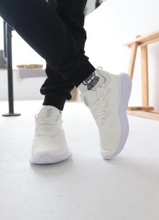 Кроссовки adidas alphabounce instinct white адидас альфабаунс ...