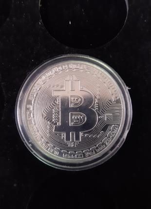 Монета Биткоин Bitcoin