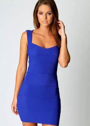 Новое платье-резинка boohoo