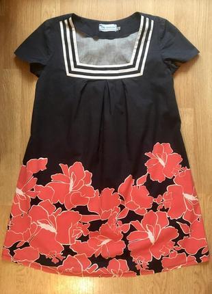 """Летнее яркое платье для беременных """"на сносях"""" размер 48, л"""