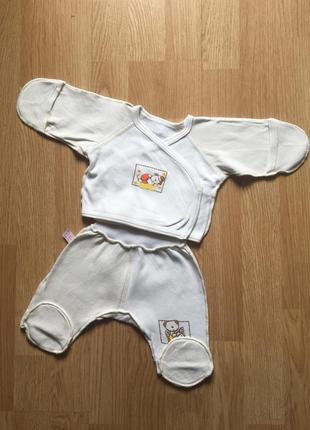 Детский теплый костюм для малыша татошка, размер 56