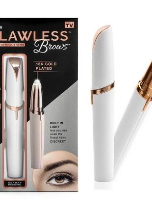 Триммер для бровей Flawless brows Бровс женский триммер