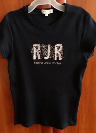 Женская футболка, черная футболка
