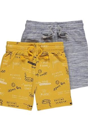Стильные шорты для мальчика george, англия,комплект, размер 4-...