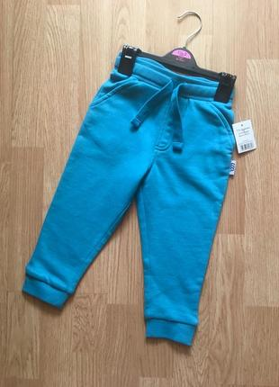 Фирменные штаны на флисе, джоггеры для мальчика george, размер...