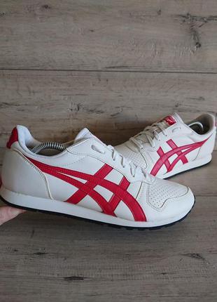 Белые кроссовки асикс onitsuka tiger by asics temp-racer 44р 2...