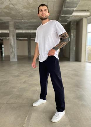 Мужские спортивные брюки| nike | классического кроя прямые